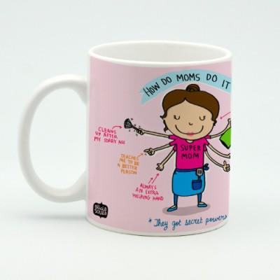 Alicia Souza Super Mom Porcelain Mug