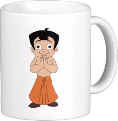 Exoctic Silver Chhota Bheem Series Kjl002 Ceramic Mug