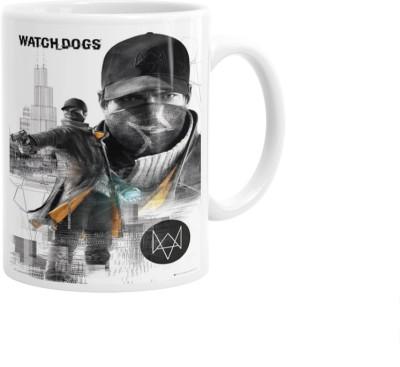 Hainaworld Watch Dogs Action Coffee  Ceramic Mug