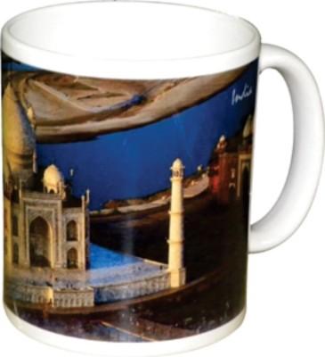 Lion Souvenirs Taj Mahal (Aerial) Coffee / Tea  Ceramic Mug