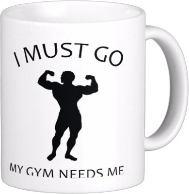 Exoctic Silver Gym-Vim Doley-Sholey C001 Ceramic Mug(300 ml)
