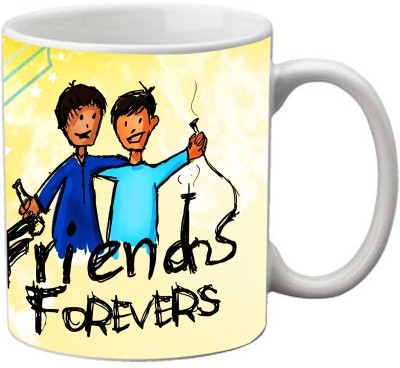Romanshopping Friend Forever  Bone China Mug