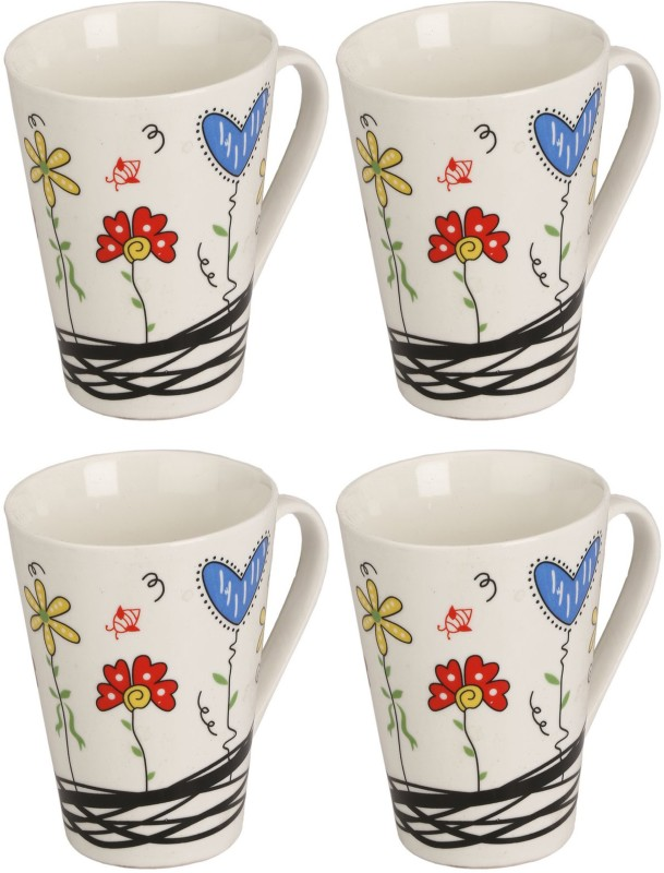 Somil Somil White Quite Baby Painting Milk Cup Set Of...