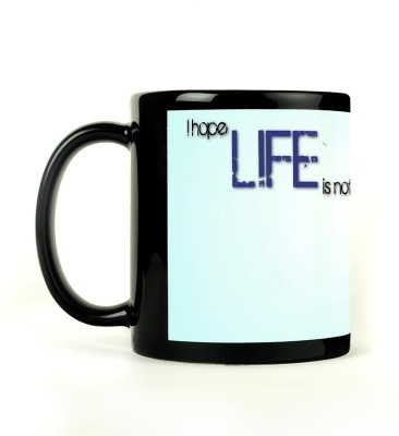 Shoperite Life Joke Ceramic Mug