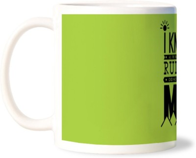 Lovely Collection Attitude Overcome Rules Ceramic Mug