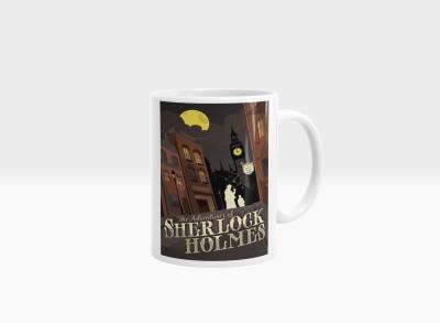 Hainaworld Sherlock Holmes Coffee  Ceramic Mug