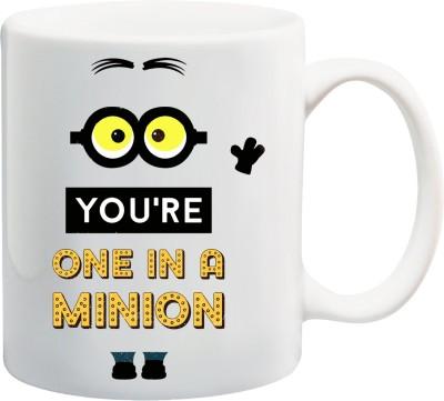 Awwsme One In A Minion Bone China Mug