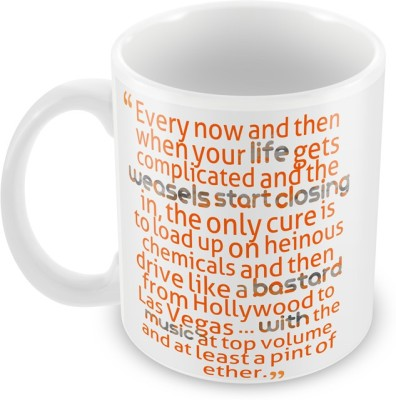 AKUP Every-Now-And-Then Ceramic Mug