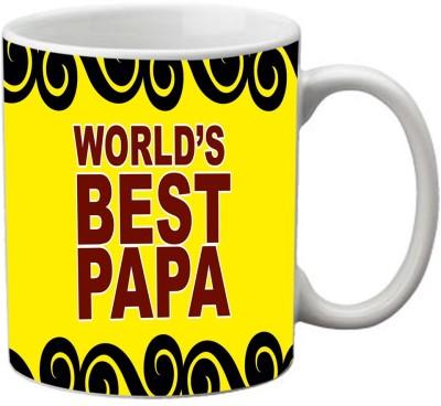 meSleep Worlds Best Papa Ceramic Mug