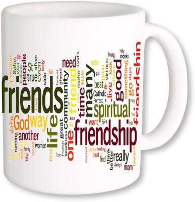 A Plus happy friendship day gifts 20 Ceramic Mug