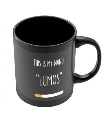 PosterGuy This Is My Wand Lumos Cigarette Funny Illustration Ceramic Mug