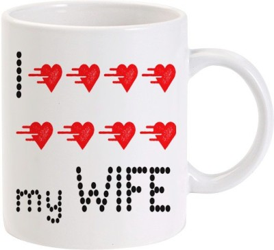 Lolprint 02 I Love my Wife Ceramic Mug