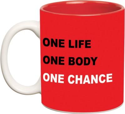 Mugwala One Life One Body One Chance Ceramic Mug