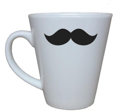 Thelostpuppy Moustache1smg Ceramic Mug