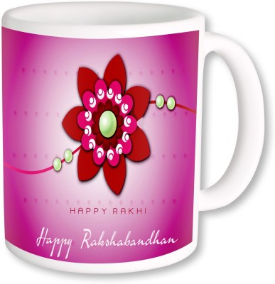 A Plus happy rakhi gifts Ceramic Mug