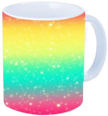 Rawkart Tri color Ceramic Mug