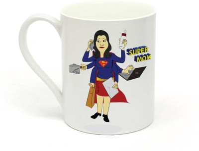 Sowing Happiness Super Mom Ceramic Mug