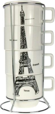 ANNI CREATIONS Fashion Stylish Cup 5 Pc Set Bone China Mug