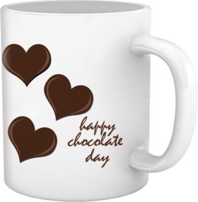 Tiedribbons Heart Chocolate Day Coffee Ceramic Mug