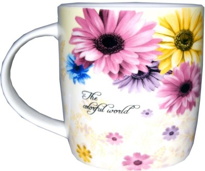 SNYTER Colorful World Pink Ceramic Mug