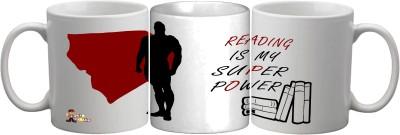 Get Fatang Reading is My Super Power (Boys) Ceramic Mug