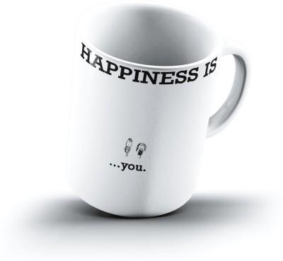 Ucard Happiness Is2088 Bone China, Ceramic, Porcelain Mug
