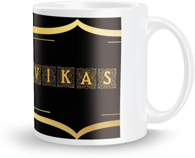 posterchacha Vikas Name Tea And Coffee  For Gift And Self Use Ceramic Mug