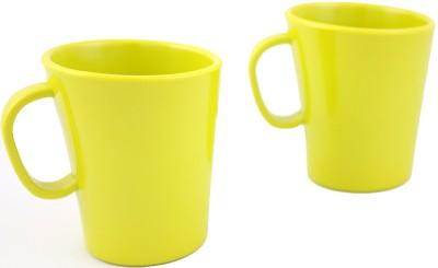 Hi Luxe Solid Clr Melamine 42249 Solid - Green Melamine Mug