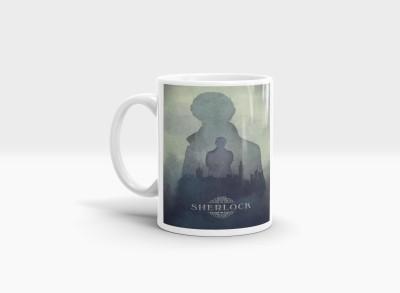 Hainaworld Sherlock Coffee  Ceramic Mug