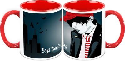HomeSoGood Boys Don,t Cry (2 s) Ceramic Mug