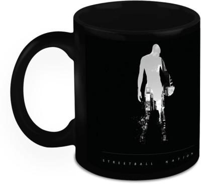 HomeSoGood Lets Play The Game Ceramic Mug