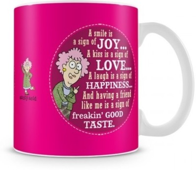 Aunty Acid Smile Ceramic Mug