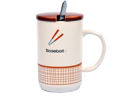 Enfin Homes Baseball Porcelain Mug