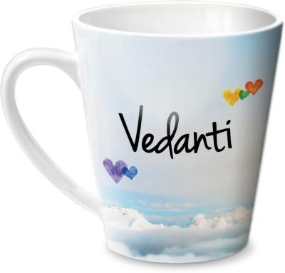 Hot Muggs Simply Love You Vedanti Conical  Ceramic Mug