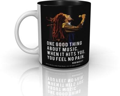 Bravado Bob Marley Music Hits You Ceramic Mug
