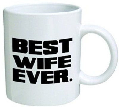 Exxact Best Wife Ever  Ceramic Mug
