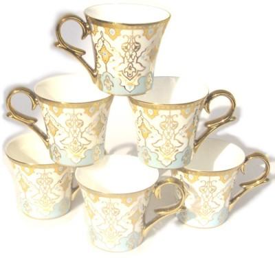 Clay Craft CP/Gold Line Bone China Mug