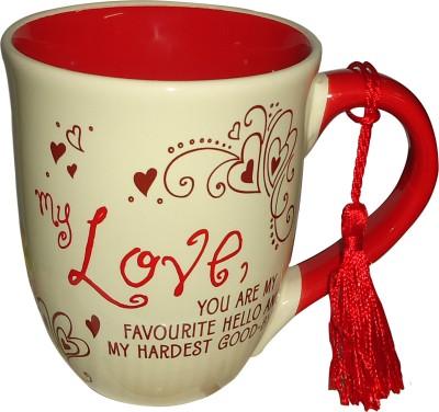 Classic Ceramic Relationship  A Gift For Your Love Ceramic Mug