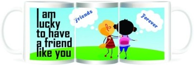 Refeel Gifts Lucky to Have a Friend Like You Ceramic Mug