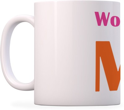 100YELLOW Coffees - Great Worlds Printed Ceramic Mug(350 ml)