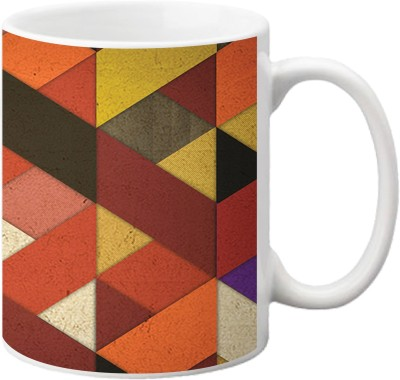 ezyPRNT Criss Cross Ceramic Mug