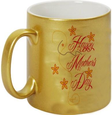 Mugwala Happy Golden Mother,s Day Ceramic Mug
