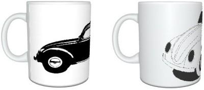 CreativesKart Cars Super Saver Pack Ceramic Mug
