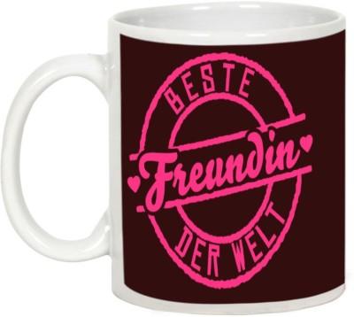AllUPrints Friendship Day Gifts - Best Friends In The World Ceramic Mug