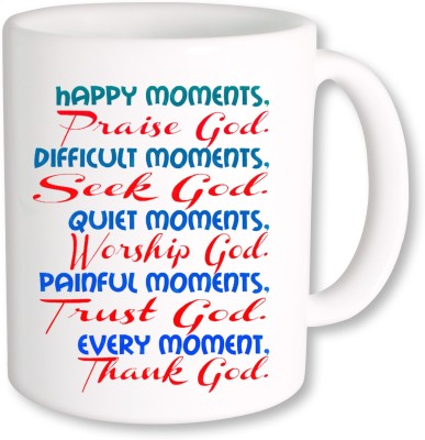 A Plus Happy Moments.jpg Ceramic Mug