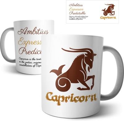 Chiraiyaa Star Sign Capricorn Ceramic Mug