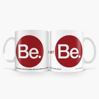 LetterNote Be Combo Ceramic Mug