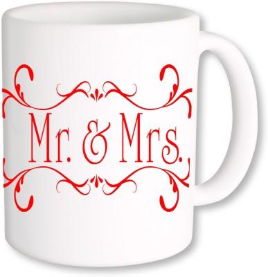 A Plus mr and mrs 02.jpg Ceramic Mug