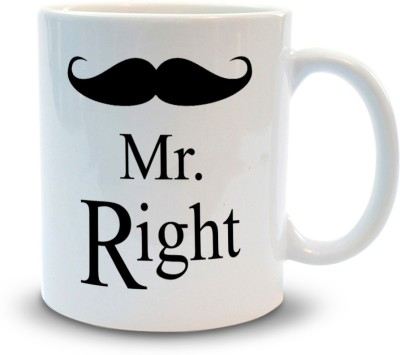 Shoppers Bucket Mr Right Ceramic Mug