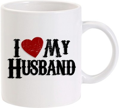 Lolprint 01 I Love my Husband Ceramic Mug